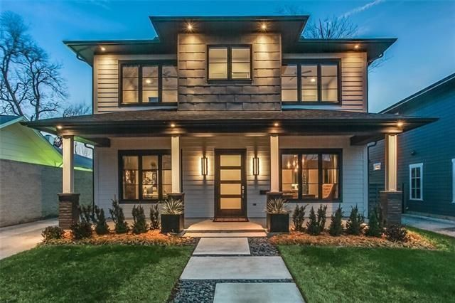 Clay stapp co residential real estate broker dallas tx for Modern prairie style homes
